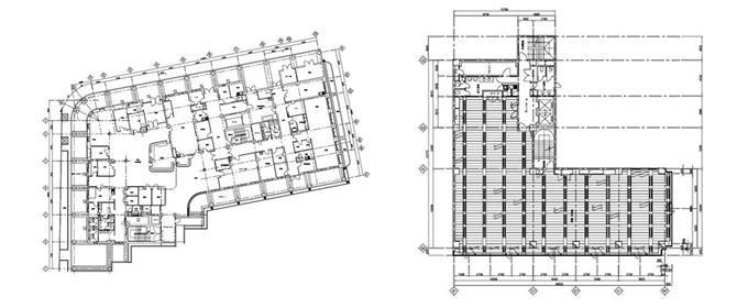 建築設備 平面図