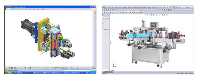 機械設備 3次元機械設計